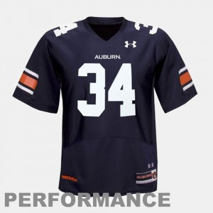 #34 Bo Jackson Auburn Tigers College Football For Men's Jersey - Blue