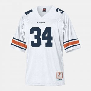 #34 Bo Jackson Auburn Tigers Youth College Football Jersey - White