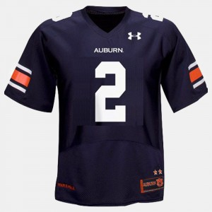#2 Cam Newton Auburn Tigers Kids College Football Jersey - Blue