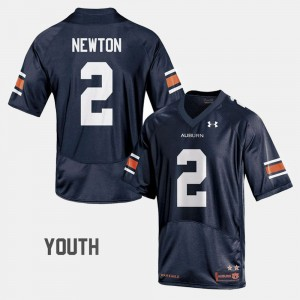 #2 Cam Newton Auburn Tigers Kids College Football Jersey - Navy