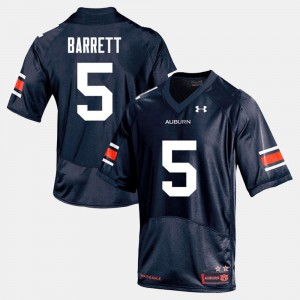 #5 Devan Barrett Auburn Tigers College Football Men Jersey - Navy