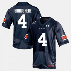 #19 Noah Igbinoghene Auburn Tigers For Men College Football Jersey - Navy