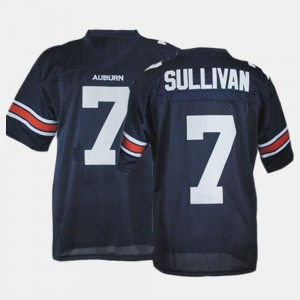 #7 Pat Sullivan Auburn Tigers Mens College Football Jersey - Blue