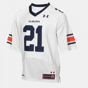 #21 Tre Mason Auburn Tigers College Football For Men's Jersey - White