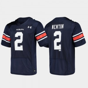 #2 Cam Newton Auburn Tigers Replica Alumni Football Mens Jersey - Navy