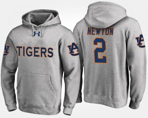 #2 Cam Newton Auburn Tigers For Men Hoodie - Gray