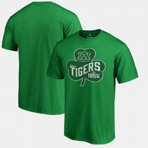 Auburn Tigers Paddy's Pride Big & Tall St. Patrick's Day For Men T-Shirt - Kelly Green