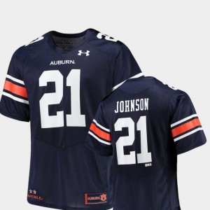 #21 Kerryon Johnson Auburn Tigers For Men's Replica Alumni Football Game Jersey - Navy