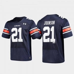 #21 Kerryon Johnson Auburn Tigers Alumni Football Replica For Men's Jersey - Navy