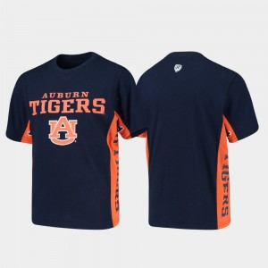 Auburn Tigers Side Bar Youth T-Shirt - Navy