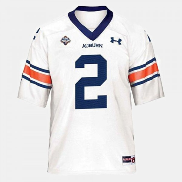 2 Cam Newton Auburn Tigers Youth College Football Jersey - White